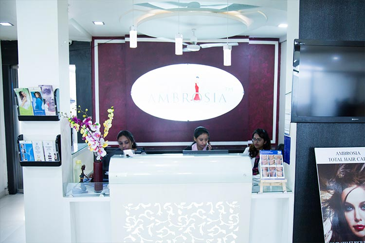 Front View of Ambrosia Clinic Reception