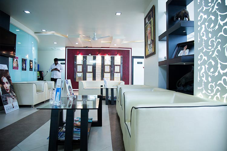 Side View of Ambrosia Clinic Waiting Area