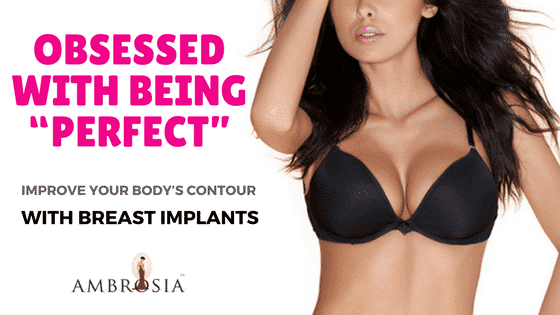 Body's Contour With Breast Implants