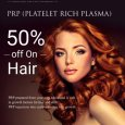 50% off on PRP on Hair Treatment