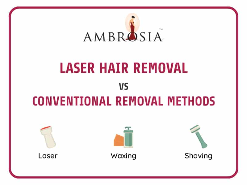 Laser Hair Removal VS Conventional Hair Removal Methods