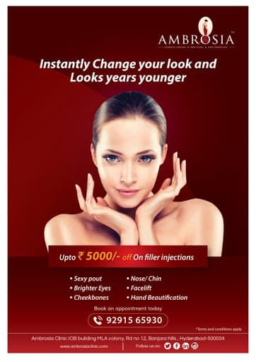 Change Your Look Instantly, Avail 5000/- Off On Fillers