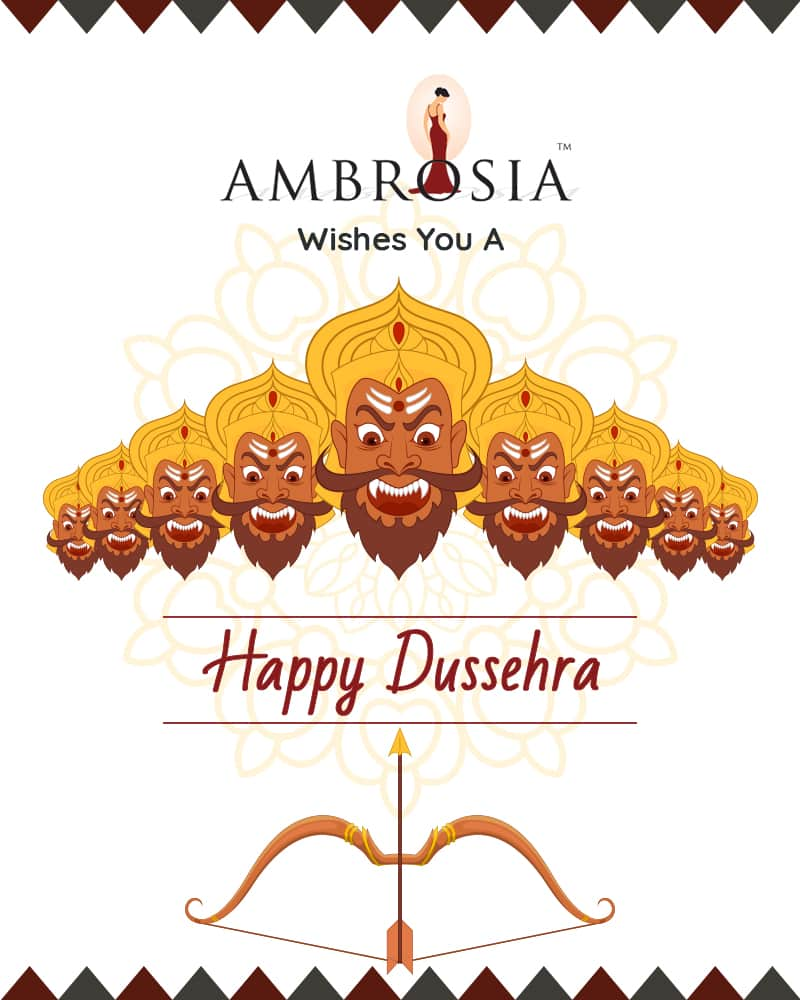 Ambrosia Clinic Wishes You A Lovable & Peaceful Dussehra