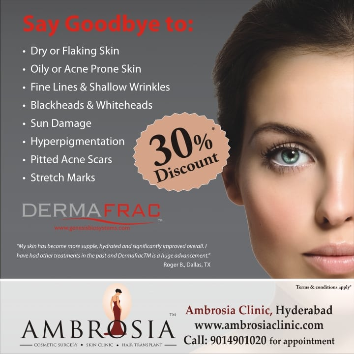 30% Off On Dermafrac Treatment