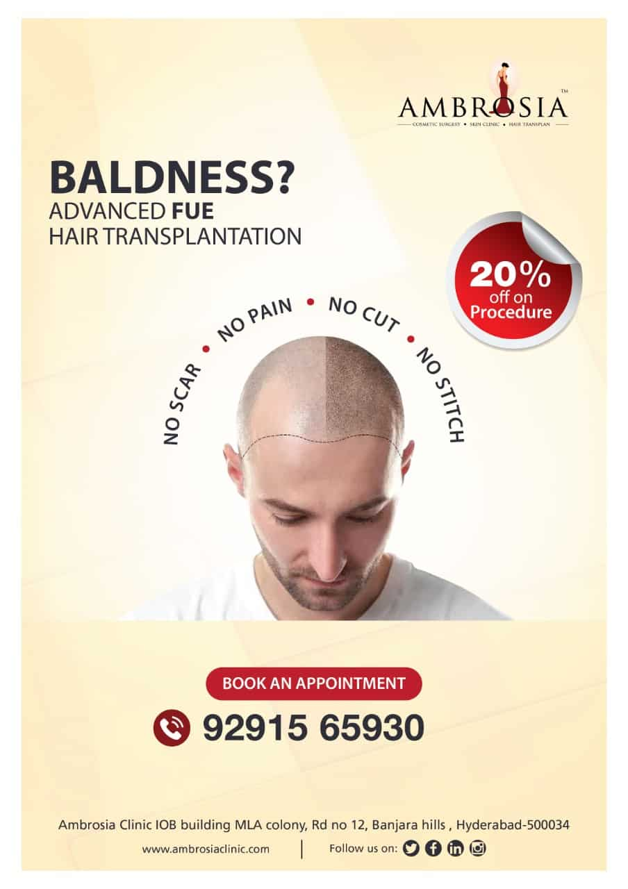 20% Off On FUE Advance Hair Transplantation