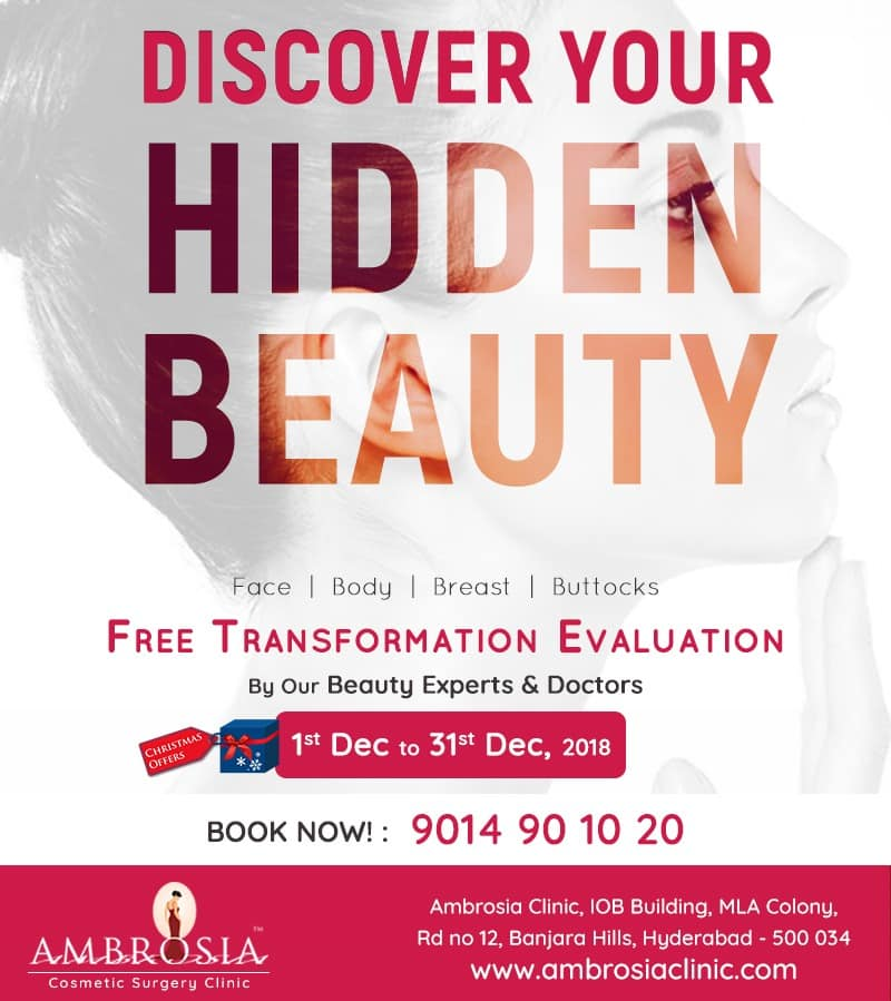 Discover your Hidden @ Ambrosia Clinic Free Transformation Evaluation with our Doctor's & Beauty experts