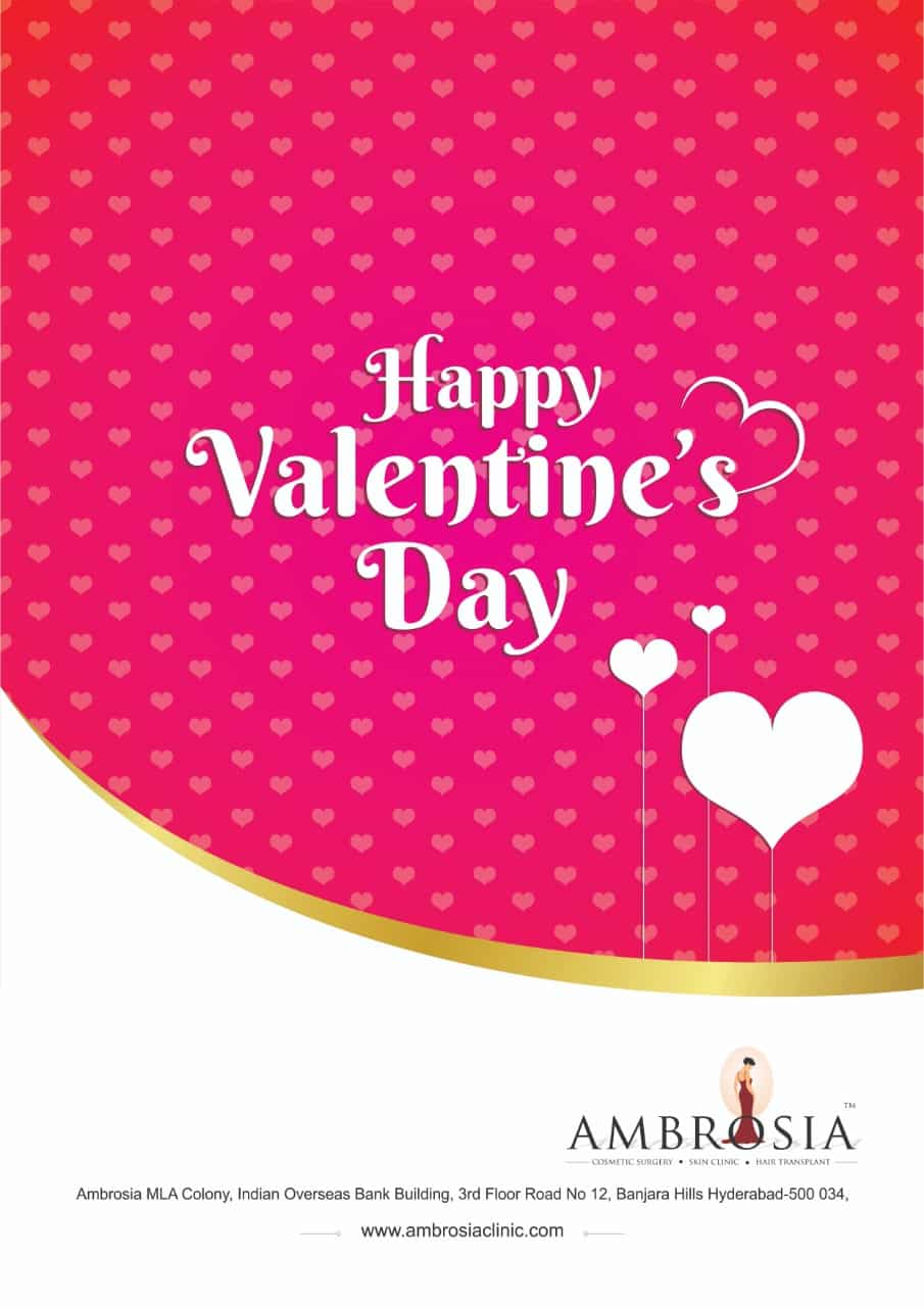 Dr Priti Shukla & Staff of Ambrosia Clinic wishes you all a very Happy Valentines Day!