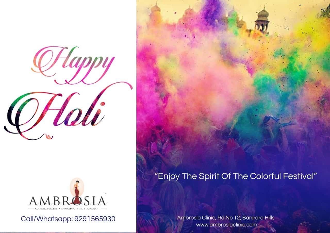 Hope Your Life Framed With All Colors Of Love And Happiness Always! Happy Holi!