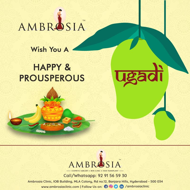 We Wish This Ugadi Fill Up your Life With Prosperity, Love & Happiness