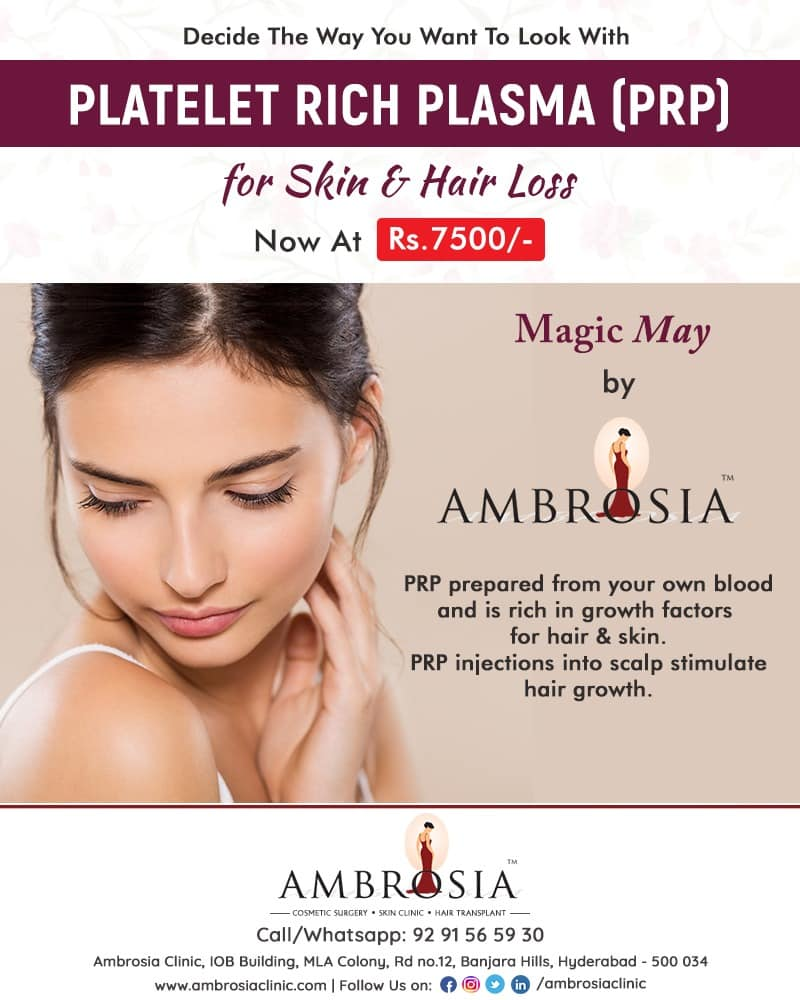Get The Desired Look You Want With Platelet Rich Plasma (PRP) Therapy