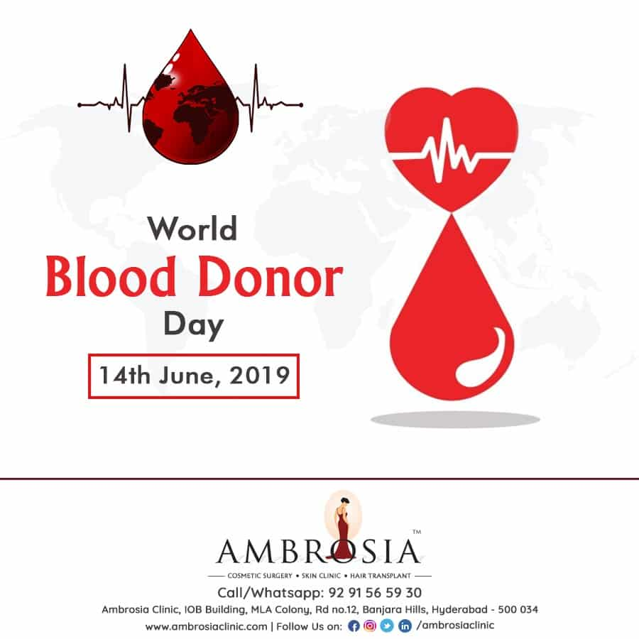 World Blood Donor Day – Donate Blood, Save Lives!