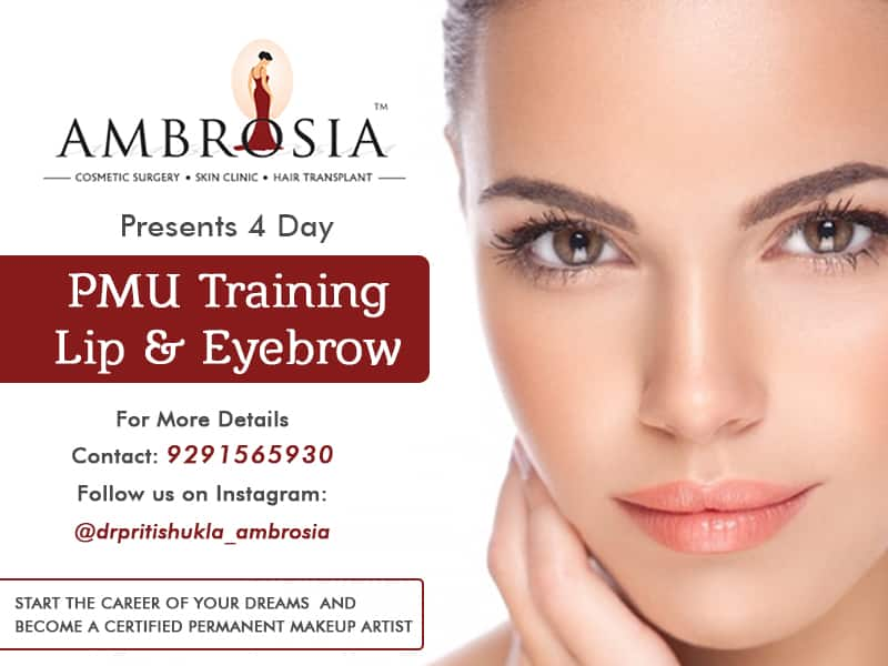 Ambrosia Clinic Presents a 4 Day PMU Training on Lip and Eyebrow