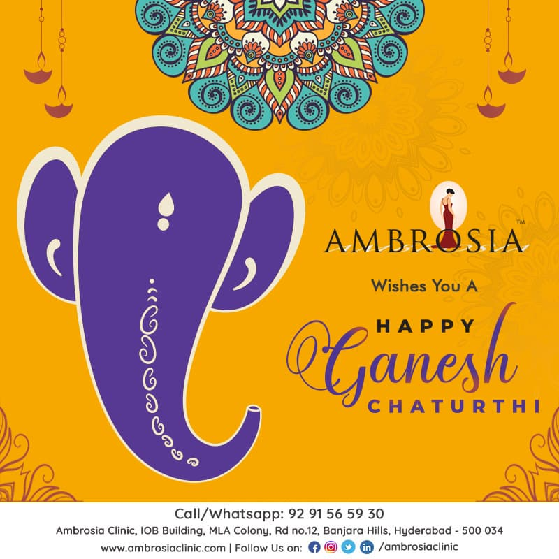 May The Blessing Of Lord Ganesh Be Up On You –  Ambrosia Clinic