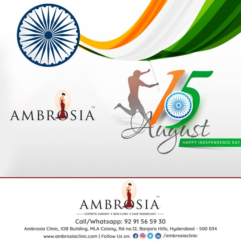 Ambrosia Clinic Wishing You A Happy Independence Day