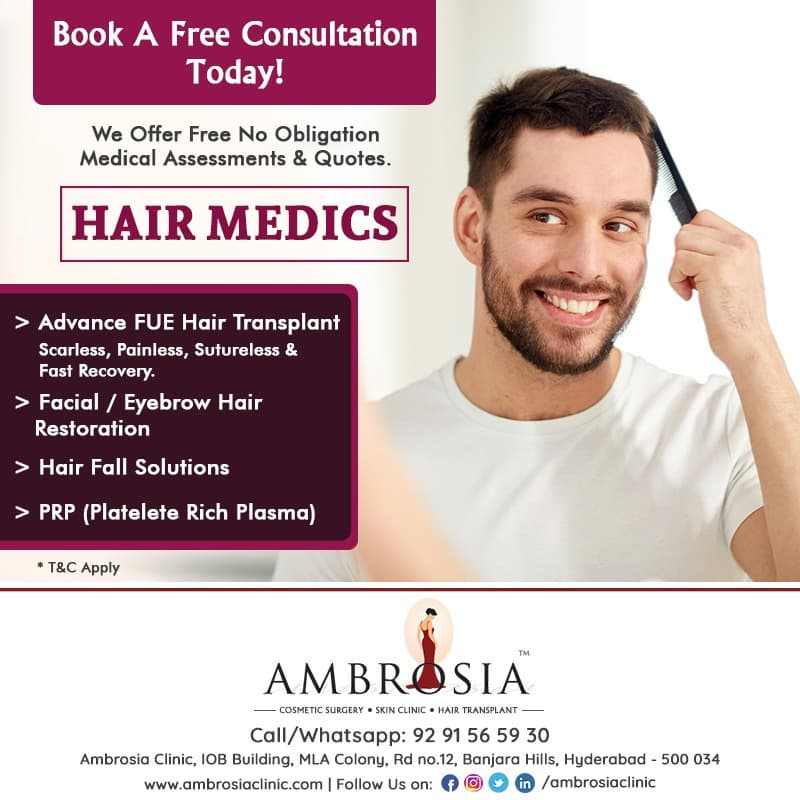 Get A Free Consultation With Our Top Hair Transplant Specialist
