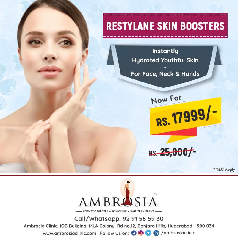 Get Youthful Skin With Restylane Skin Boosters At Ambrosia Clinic