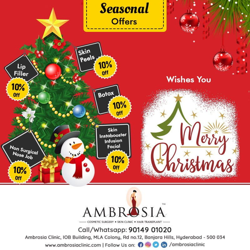 Improve Your Aesthetic Look With The Christmas offers By Ambrosia Clinic