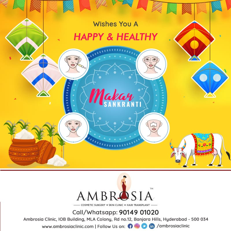 Have A Happy & Blessed Makar Sankranti To You And Your Family – Ambrosia Clinic