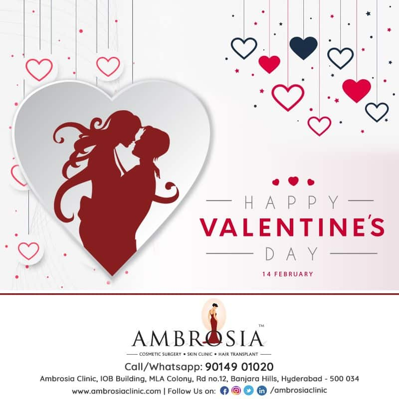 Ambrosia Clinic Wishing You A Very Happy Valentine's Day